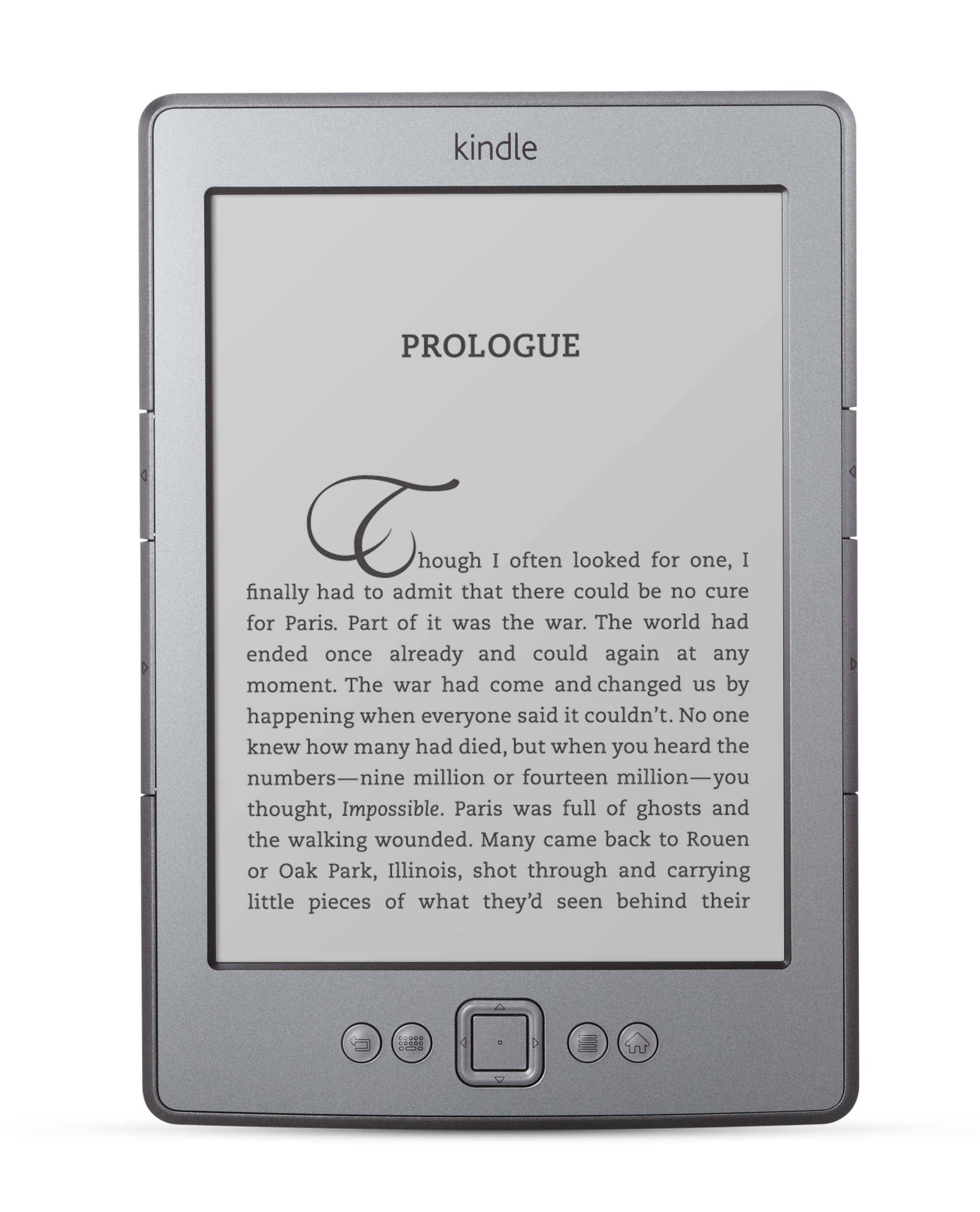 Kindle Review Test 4 fire